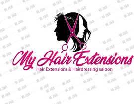 #26 for Hair Extensions & Hairdressing logo af jackmh500