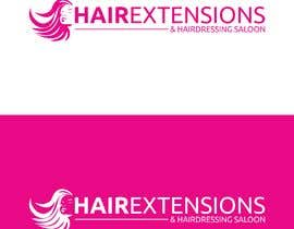 #42 for Hair Extensions & Hairdressing logo by DeFurqan