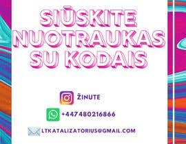 #11 for Instagram business account picture with how to contact details by syafiqahsuhaimi