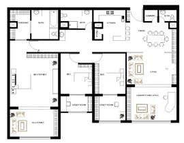 farzanayesminbd tarafından 144sqm Apartment için no 105