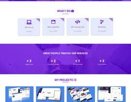 #5 for Redesign our current portfolio page by mdgolamrabbani00