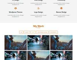 #9 for Redesign our current portfolio page by Nitroworld26