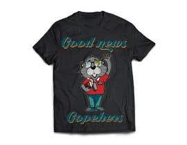 #43 for Make this Gopher a Missionary - T-Shirt Logo af asma0331