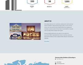 #25 for Design a Home Page UI using photoshop or Adobe XD by innetdesigns