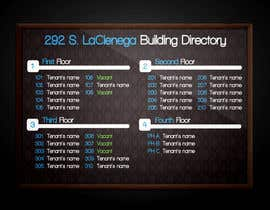 design a template for modern office building directory freelancer