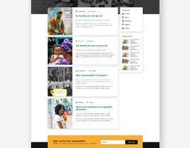#35 , UX/UI Design - Blog page 来自 gonalegen