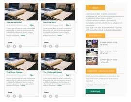 #44 , UX/UI Design - Blog page 来自 EmmanuelThomas1