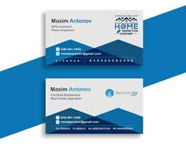 #66 for Business card For real estate appraiser 2 by redwanmunna52