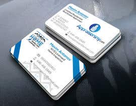 #62 for Business card For real estate appraiser 2 by prodesignmax