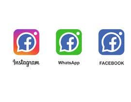 alexeyzp tarafından Create a better version of Facebook's new logo için no 1427