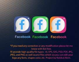 #2296 cho Create a better version of Facebook's new logo bởi Hk247