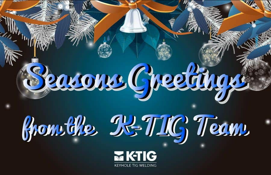 Contest Entry #                                        2                                      for                                         Design a branded Seasons Greeting card and animation suitable for email