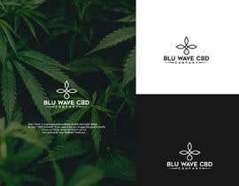 Nro 175 kilpailuun Blu Wave CBD Logo käyttäjältä anubegum