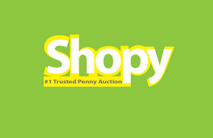 Bài tham dự cuộc thi #189 cho Logo Design for Shopy.com