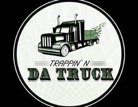 #15 for Trappin' N DaTruck—- description is...Semi truck pulling a flatbed trailer with stacks of money on the back... I want the money to look as if it's flying off the trailer by joec184