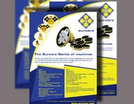 #38 для Design advertising flyer for industrial sander от Mubasshirin