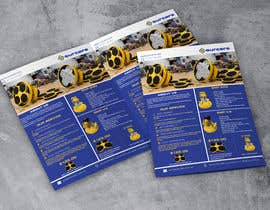#158 для Design advertising flyer for industrial sander от moniruddin11994