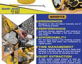 #161 для Design advertising flyer for industrial sander от MrNobody786