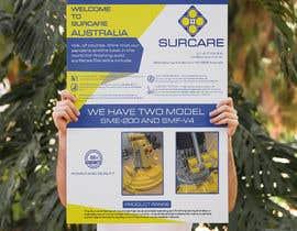#155 для Design advertising flyer for industrial sander от mdrajib676