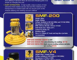 #80 for Design advertising flyer for industrial sander by dsyro5552013