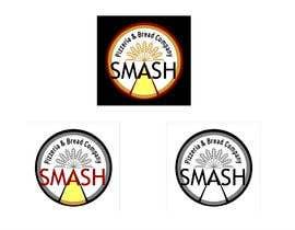 #56 for Smash Pizzeria & Bread Company Logo by elshamal