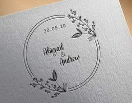 Nro 110 kilpailuun Wedding logo/monogram käyttäjältä amnaazhar265