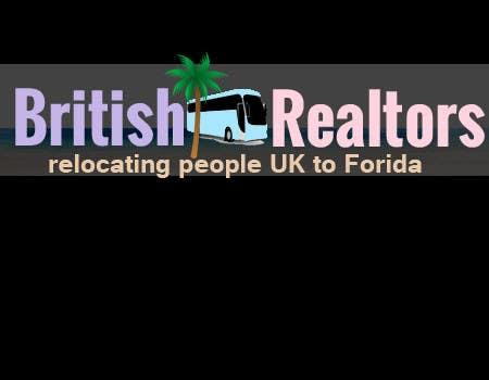 Penyertaan Peraduan #                                        2                                      untuk                                         Logo Design for British Realtors, relocating people UK to Forida