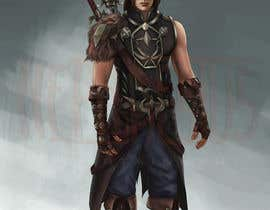 #13 for Design a Dark Elf rogue character by Hephaestusent