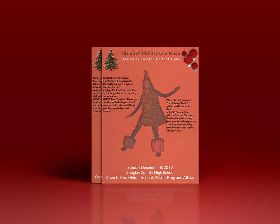 Proposition n°45 du concours Christmas Cheer Event Flyer