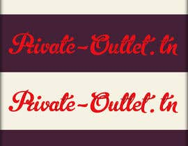 #6 para Logo Design for www.private-outlet.tn por roman230005