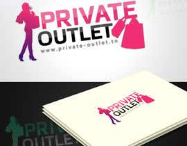 #13 untuk Logo Design for www.private-outlet.tn oleh eak108