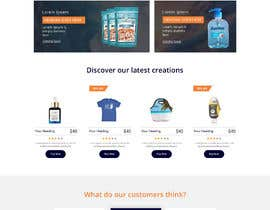 #5 for E-commerce homepage webdesign by mithu2219146