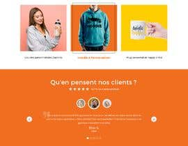 #47 for E-commerce homepage webdesign by GraphicaKing