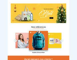 #73 for E-commerce homepage webdesign by GraphicaKing