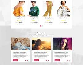 #73 for Homepage Design for e-commerce platform by SK813