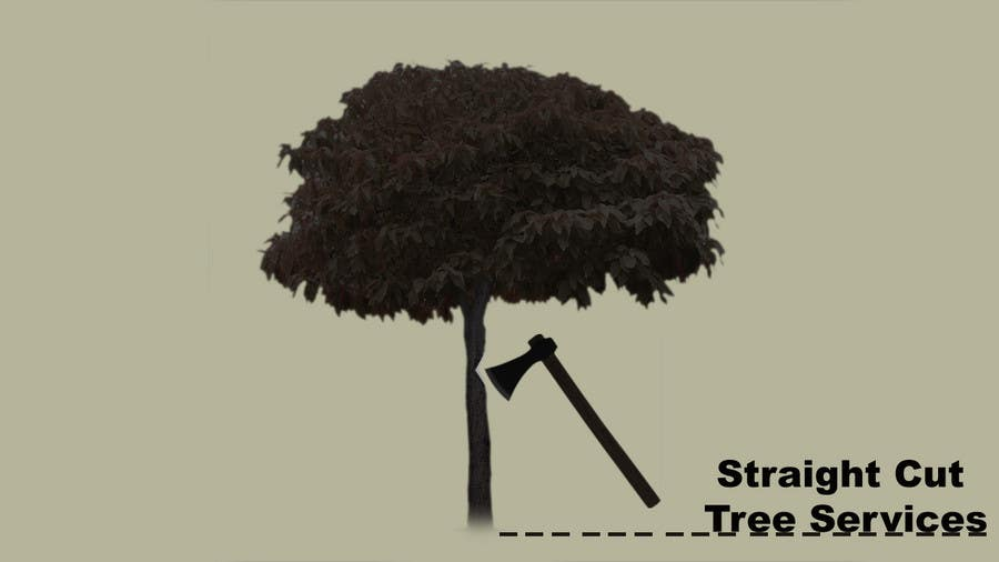 #5 for Logo Design for Straight Cut Tree Service by flynnrider