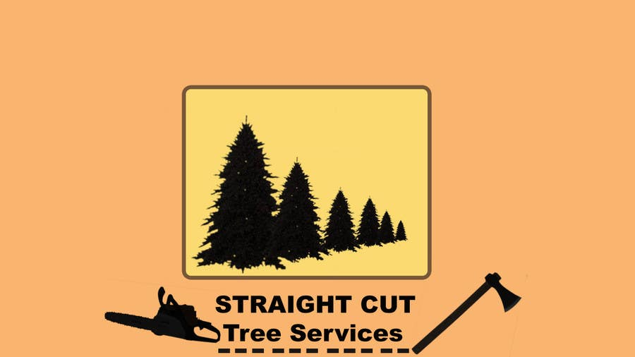 #13 for Logo Design for Straight Cut Tree Service by flynnrider