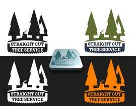 nº 11 pour Logo Design for Straight Cut Tree Service par niccroadniccroad