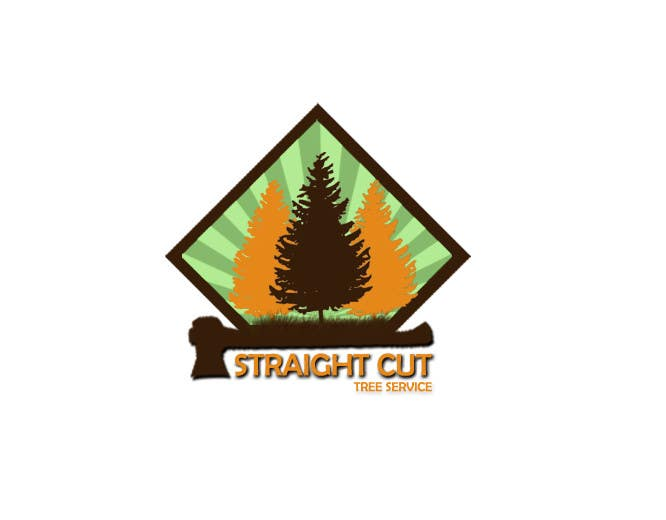 #9 for Logo Design for Straight Cut Tree Service by kainatali