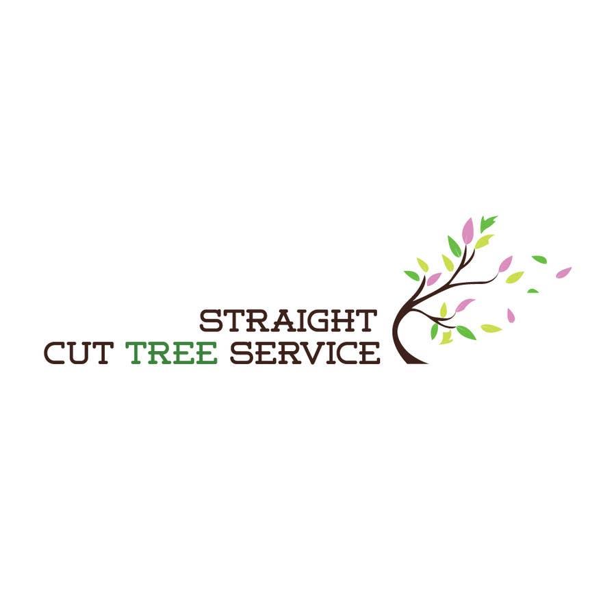 Penyertaan Peraduan #                                        37                                      untuk                                         Logo Design for Straight Cut Tree Service
