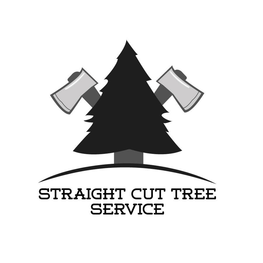 #38 for Logo Design for Straight Cut Tree Service by VaraxenDesigns