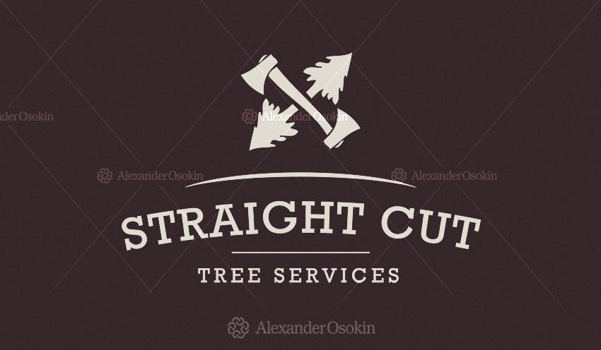 #1 for Logo Design for Straight Cut Tree Service by osokin