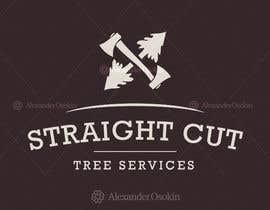 #1 cho Logo Design for Straight Cut Tree Service bởi osokin