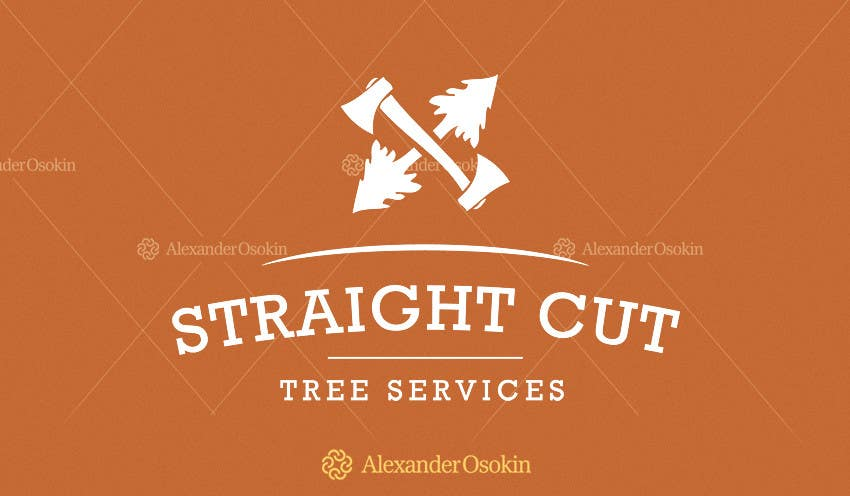 #2 for Logo Design for Straight Cut Tree Service by osokin