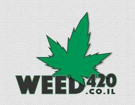 nº 22 pour A logo for a weed website par Bud420