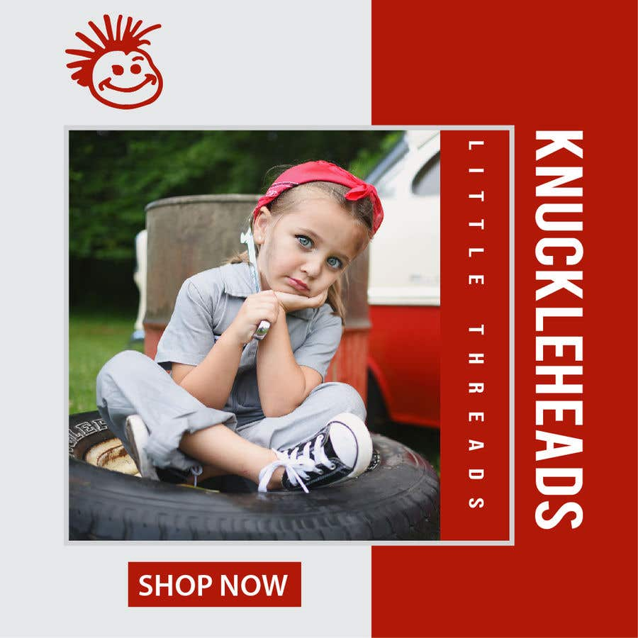 Proposition n°122 du concours Banner for Advertising Knuckleheads Clothing