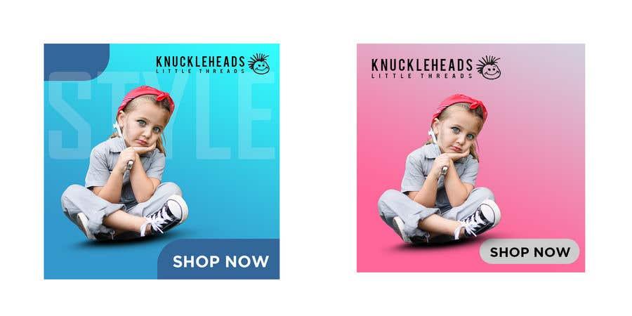 Kilpailutyö #45 kilpailussa Banner for Advertising Knuckleheads Clothing