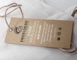 #54 untuk Clothing printed tag oleh takemenet