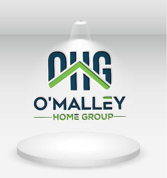Kilpailutyö #217 kilpailussa OMalley Home Group Logo