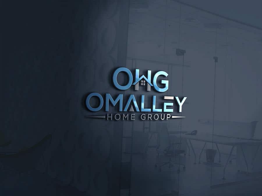 Kilpailutyö #131 kilpailussa OMalley Home Group Logo